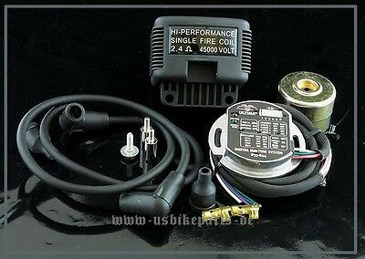 Ignition system electronic single fire and dual fire Harley Davidson Custom