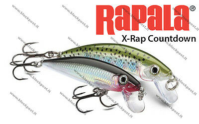 Rapala X-Rap Countdown 5cm / 4g / XRCD05 / Different colors / BRAND NEW