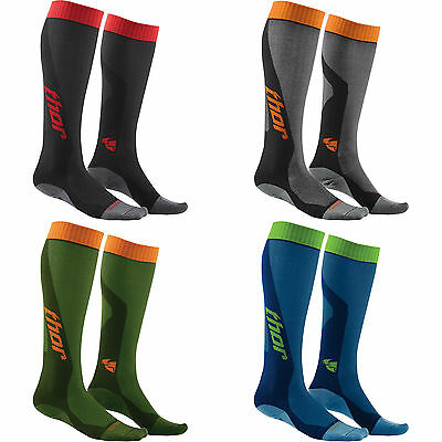 2016 Thor MX Cool Socks Mens Motocross Off Road Offroad ATV UTV Lightweight