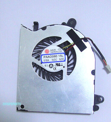 New for MSI GS60 GPU cooling Fan PAAD060 15L 3pin 0.55A N293