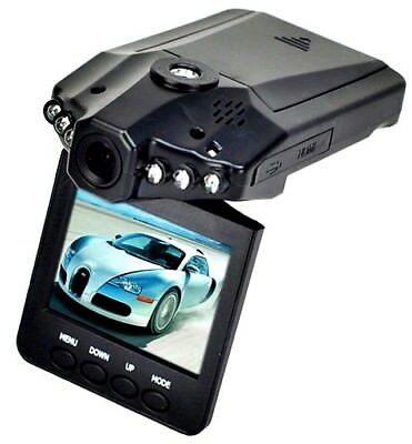 "Telecamera Videoregistratore Mini Dvr Auto Hd Monitor Lcd 2.5"" 6 Led 720P"