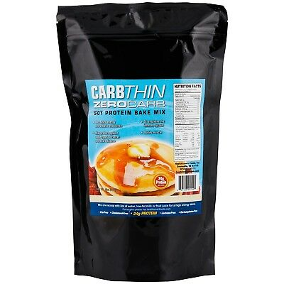 Healthsmart Zero Carb Soy Vanilla Protein Bake Mix,Low Carb, Sugar Free,Fat Free