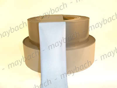 """New Reflective Silver Tape - sew on 1"""" trim fabric"""
