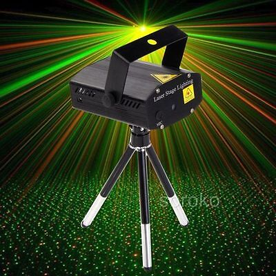 Awesome LED R&G Laser Disco DJ Stage Light Party Pattern Lighting Projector