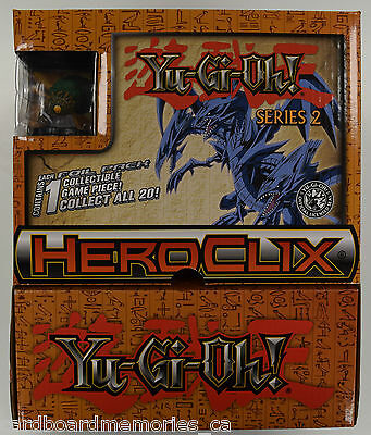 HeroClix - Yugioh! Series 2 Gravity Feed Booster Box