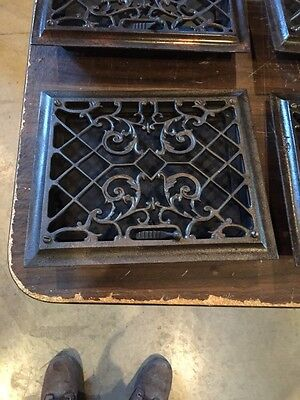 Tc 5 3 Available Priced Separate Antique Floor To WallHeating Grate Re-Finished
