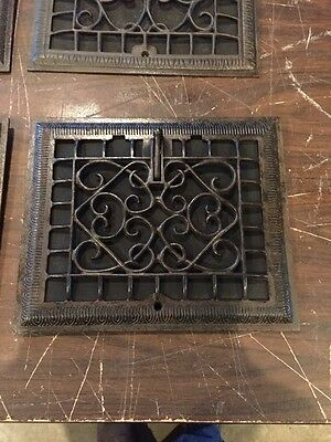 Tc 4  4 Available Priced Separate Heating Grates For Wall Refinished