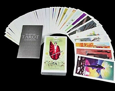 The light Grey Tarot cards and guidebook /New-Sealed/UK-seller/ltd edition.