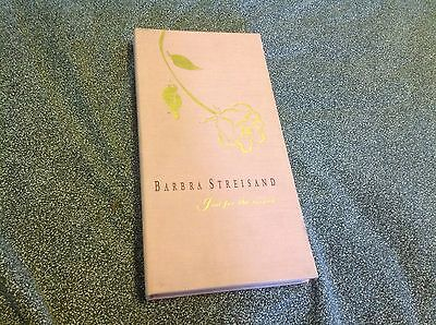 """Barbara Streisand """"Just for the Record"""" Box Set"""