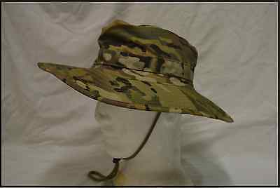 MULTICAM CAMOUFLAGE BOONIE HAT  -   Size S to XL