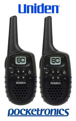 Uniden UH35 TWIN Pack 2x single compact Handheld CB UHF Walkie Talkie small NEW