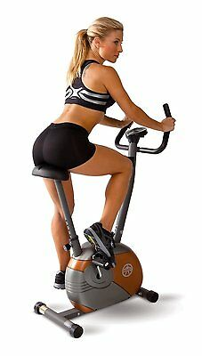 Marcy Upright Mag Bike Upright exercise bike with smooth magnetic resistance NEW