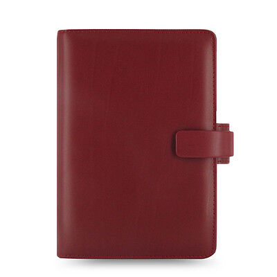 Filofax Personal Size Metropol Organiser Planner Diary Red Leather -026910 Gift