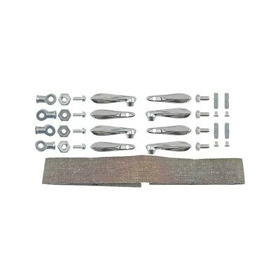 Wind Wing Bracket Set - Die Cast - Chrome - 23 Pieces - Ford Open Car 32-22068-1
