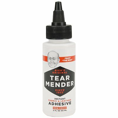 Tear Mender Instant Fabric and Leather Adhesive, 2 Ounces (Model No.TG-2)  CXX