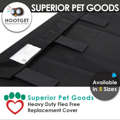 Superior Pet Goods - Heavy Duty Flea Free Dog Bed Replacement Cover -XS,S,M,L