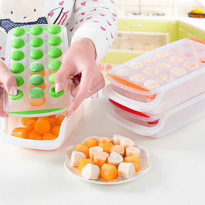New Silicone Ice Ball Cube Tray Freeze Mould Bar Jelly Chocolate Mold Maker GG