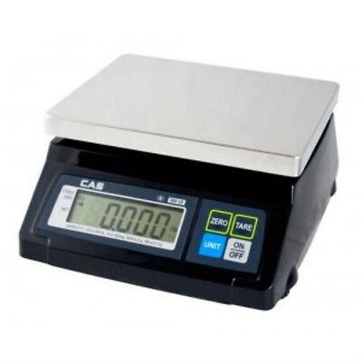20 LBS x 0.01 LBS Cas SW-RS(20) NTEP Pos Interface Food, Supermarket Scale NEW