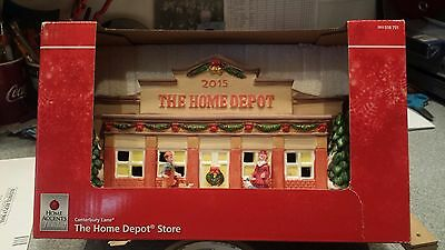 Canterbury Lane The Home Depot Store 2015 Home Accents Holiday NEW