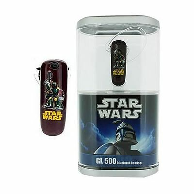 Star Wars GL 500 Bluetooth Headset - Boba Fett-  Brand New