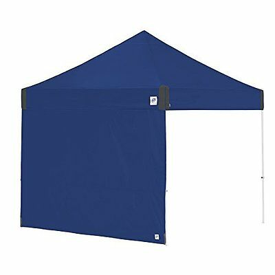 E-Z UP Recreational Sidewall-Straight Leg 10ft 3m, Royal Blue, w/Grey Accents