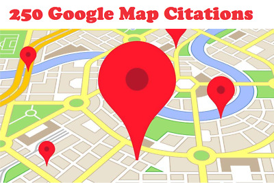 250 Google Map Citations with Backlinks for Local SEO .Get Ranked in Top Google