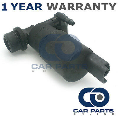 For Citroen C3 (2002-2015) Front & Rear Twin Outlet Windscreen Washer Pump