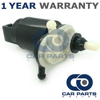 For Vauxhall Zafira A (1999-05) Front & Rear Twin Outlet Windscreen Washer Pump