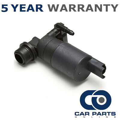 For Renault Scenic (2003-2015) Front & Rear Twin Outlet Windscreen Washer Pump