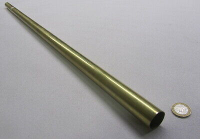 "260 Brass Tube 1.00"" OD x .025"" Wall x .950"" ID x 3 Ft Length"