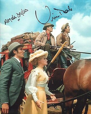 Carry On Cowboy comedy photo signed by Douglas & Dale UACC DEALER