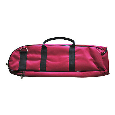 New Brass Wind Fashionable Musical Trumpet Soft Case Canvas Gig Bag Red ED