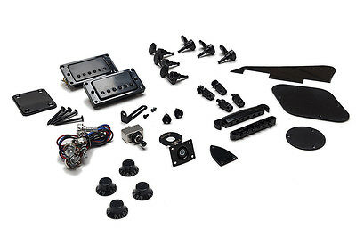 Kit Completo Hardware Guitarra Les Paul - Full Black Hardware Set LP Guitar
