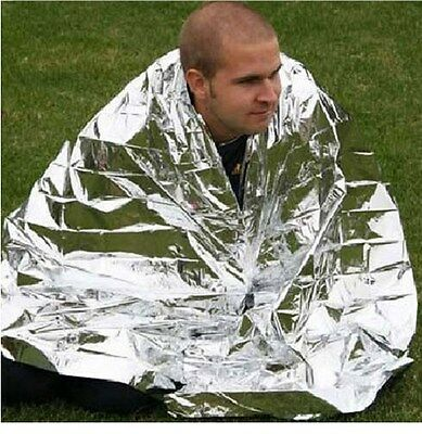 Emergency Blanket Survival Rescue Insulation Curtain Outdoor Life-saving
