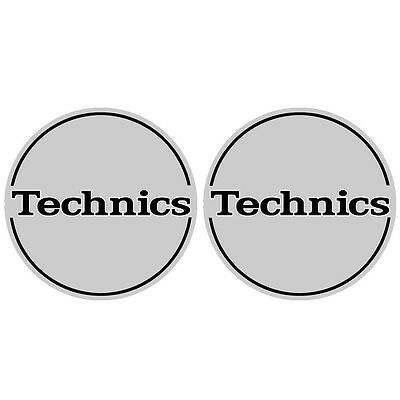 Technics 60643 DJ Vinyl Turntable Slipmat Outbreak Pair