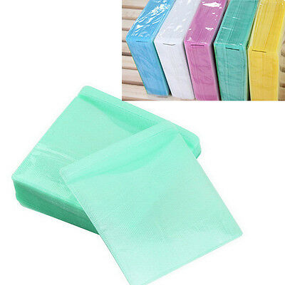 100PCS CD DVD Double Sided Cover Storage Case PP Bag Sleeve Envelope Holder NEW