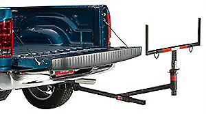 """Lund 601021 Hitch Rack Truck Bed Extender Adjustable from 27"""" to 49"""" Wide"""