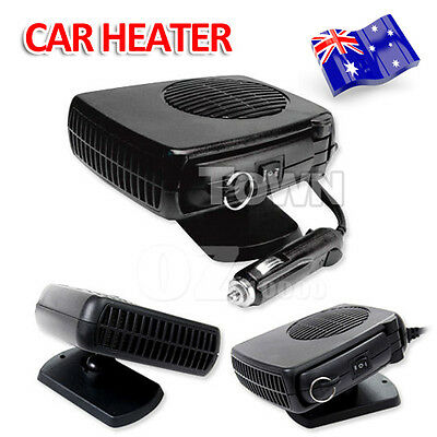 Portable Car Heater Fan Defroster Demister 12V 150W Vehicle Ceramic Heating