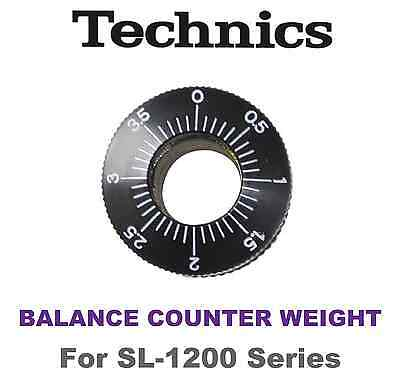 TECHNICS SL1200 Series BALANCE COUNTER WEIGHT FOR TECHNICS TONEARM SFPWG17201K1