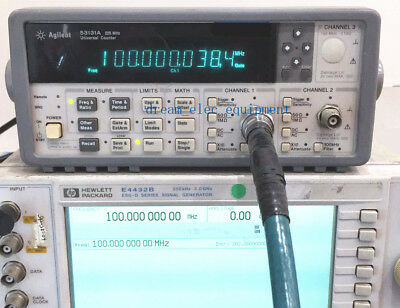 HP/Agilent 53131A 225 MHz Universal Frequency Counter