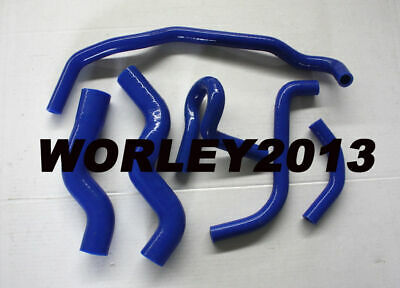 Blue silicone radiator heater hose for Rodeo TF 2.8L Turbo Diesel 1990-1997