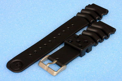 Rubber strap for Seiko divers Z22 models 6309/7S26/7002