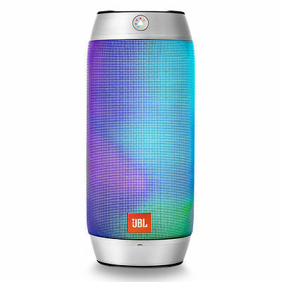 Brand New Jbl Pulse 2 Portable Bluetooth Speaker With Interactive Light Silver