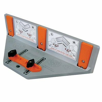 Bench Dog 10-027 Polymer Crown-Cut Crown Molding Cutting Jig Made in the USA.