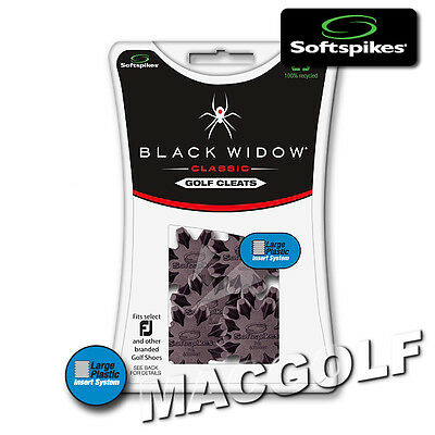 "Softspikes Kit ""Black Widow Classic"" / Ausführung ""9mm Plastic Thread"" Systeme"