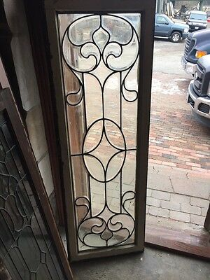 Sg 396 Antique All Beveled Glass Transom Window