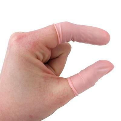 100pcs Swiss Horotec Rubber Finger Protector Cots Watch Jewelry Repair Tool SML