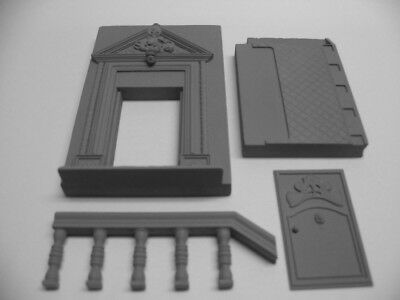 Reality In Scale 1:35 The Balustrade - Resin Diorama Accessory #35018