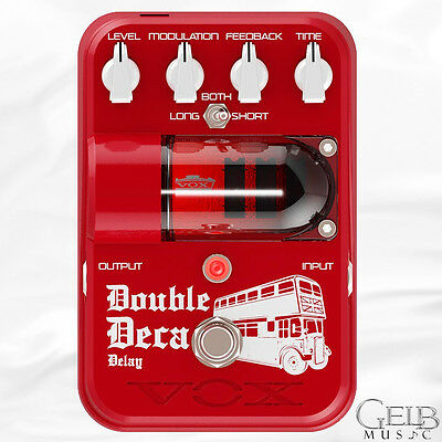 Vox Tone Garage Series Double Deca Analog Delay Effect Pedal - TG2DDDL