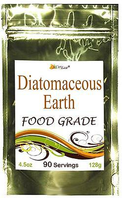 ~ Food Grade ~ DIATOMACIOUS EARTH Colon Cleanse Bowel Parasites Detox 90 Serving